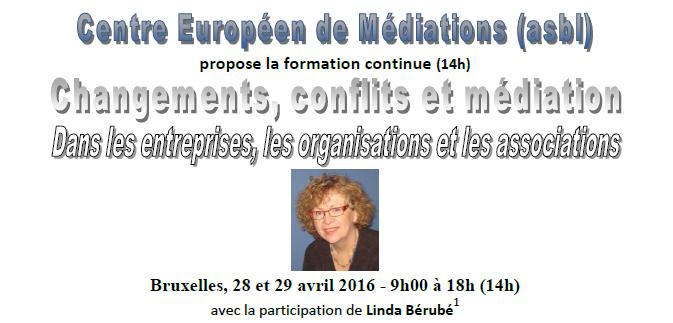 Formation Linda Bérubé – 28 & 29 avril 2016 | Centre